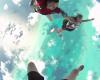 世界で最も深い蒼「グレートブルーホール」へ上空から飛び込み!!